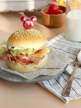 麦可安的自制百搭汉堡