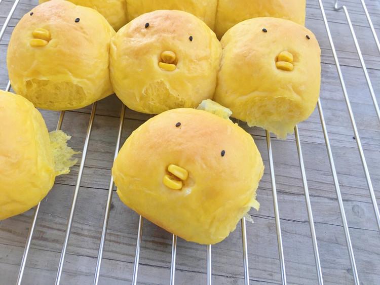 吃可爱多长大的萌鸡小队面包图1
