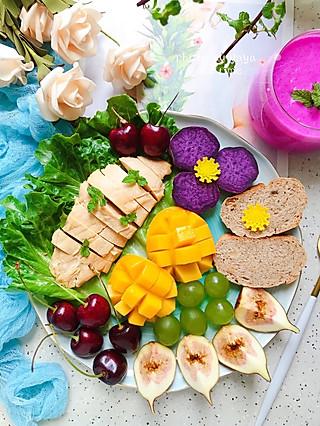 芽芽名叫黄小芽的健康的饮食加上科学的运动,才是王道✌🏻️早餐打卡