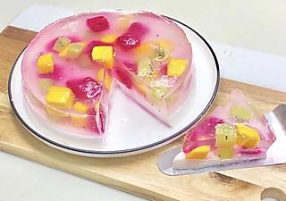 凌顺的下午茶的果冻蛋糕