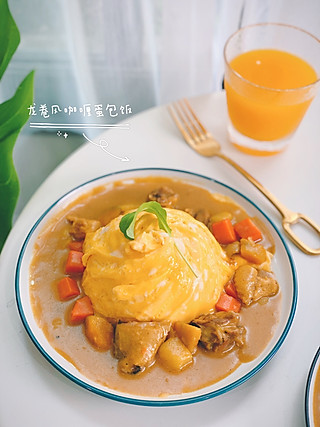 加莉的厨房的龙卷风蛋包咖喱饭