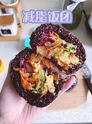 honey啊清清的低脂版台湾饭团!方便易做爆好吃!营养均衡