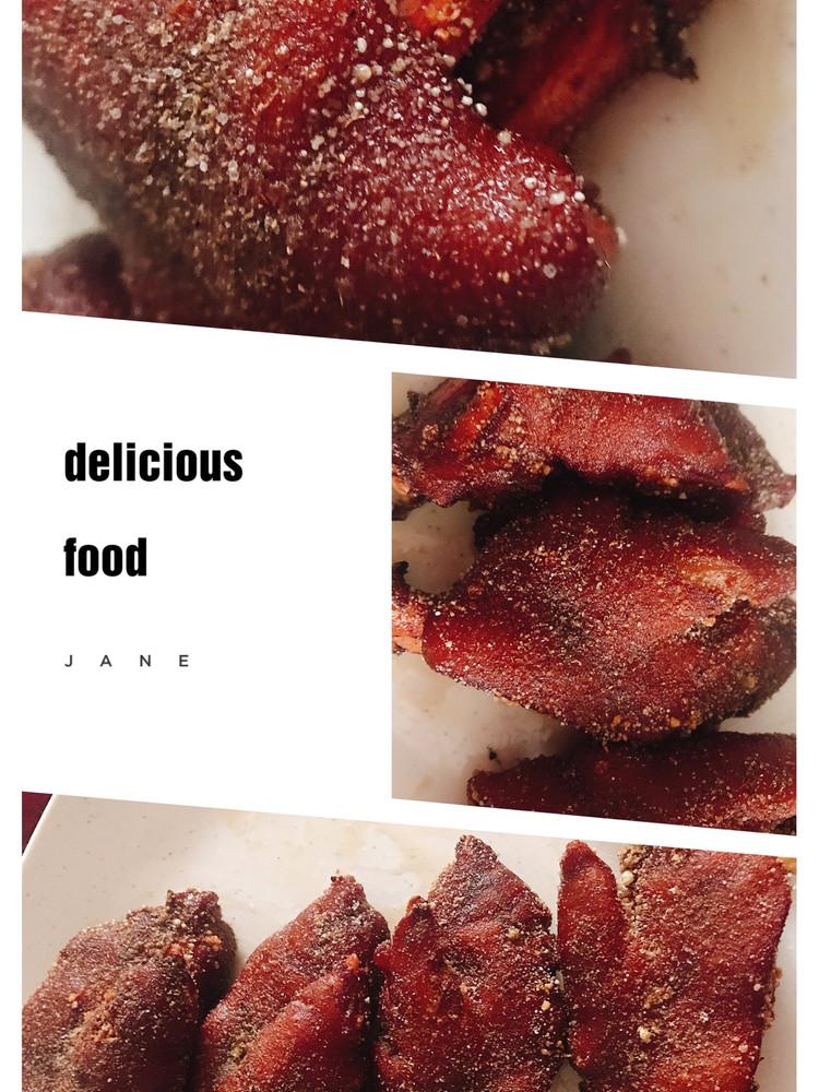 椒盐猪蹄图1