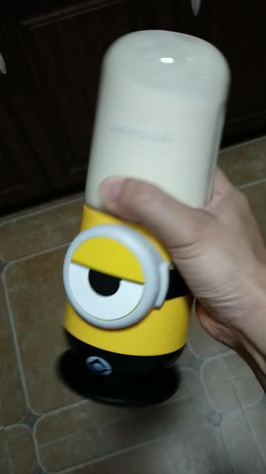 香蕉奶昔,摇一