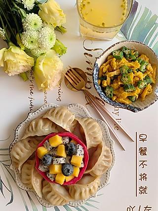 吖左的煎饺VS秋葵炒蛋