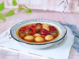 枭笑的㊙️补气暖宫🔥桂圆红枣鹌鹑蛋糖水~每天一碗喝出好气色‼️
