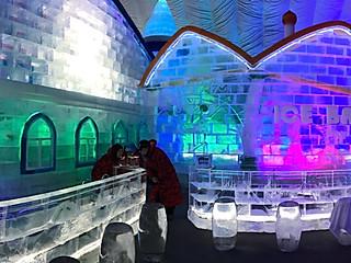 雁子的哈尔滨冰雪大世界
