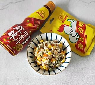 豪吉鸡精之扬州炒饭