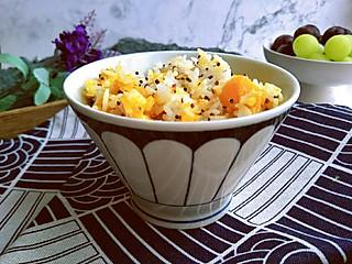 蓝洛凌的南瓜藜麦焖饭,营养美味益处多多