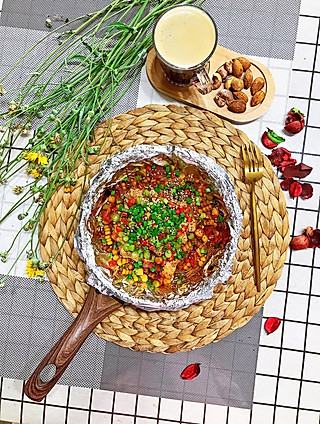 愿你美好的香辣金针菇焖鸡胸肉🍳(减脂大餐)➕坚果🌰➕冰美式☕️