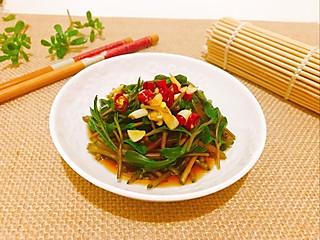 Liliumlys的营养非常丰富的高蛋白、低碳水化合物野生蔬菜马齿苋,你吃过吗?