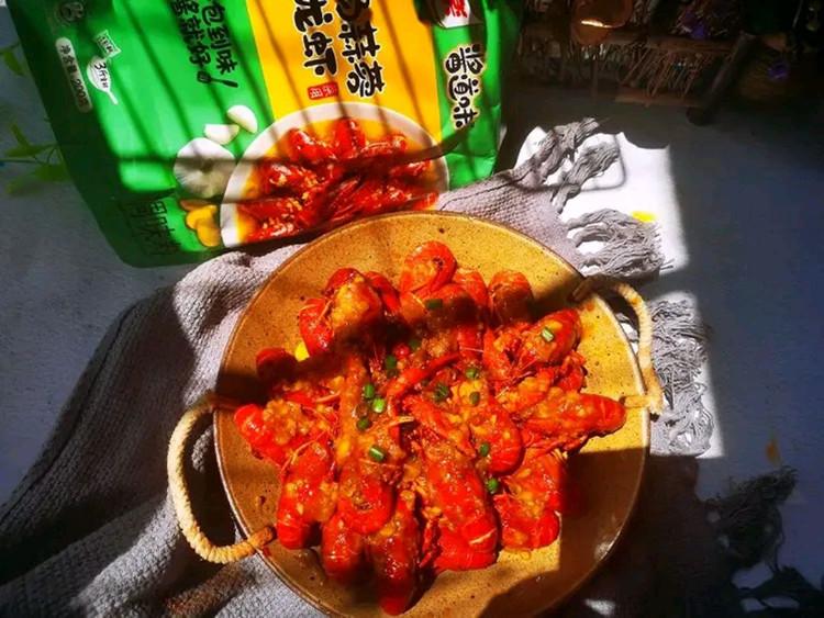 汤色金黄,蒜香浓郁的金汤蒜蓉小龙虾🦂🦂图5