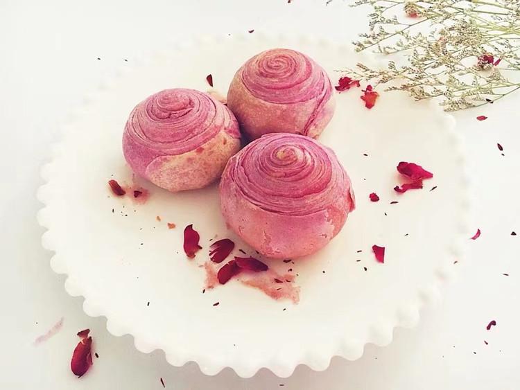 好吃可爱的紫薯酥图2