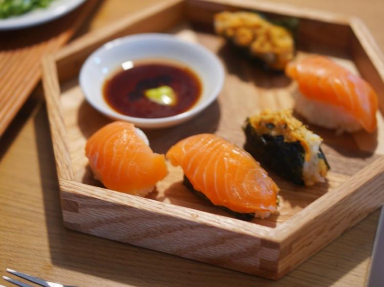 周末加餐,三文鱼vs 韩式年糕图1