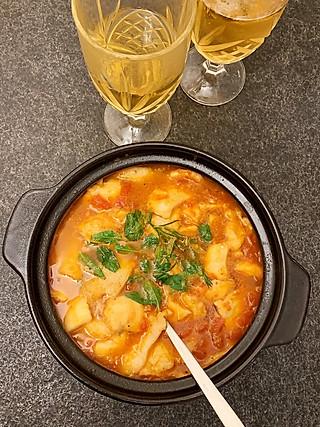 SAPBEAR的加了越南香菜的茄汁咖喱鱼