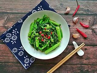 馨心杨的蒜蓉菜心超级健康的一道菜
