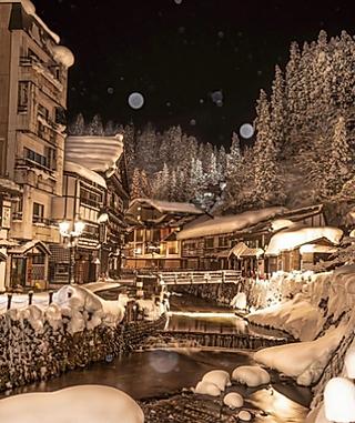 小玉Doris的日本冬季旅行|千与千寻原型❄️绝美童话世界