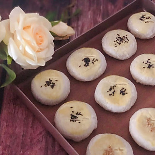 爱做饭的小可爱123的在家制作美味的老婆饼