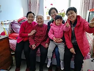 厨小花的五代同堂—百岁老人与我的爱