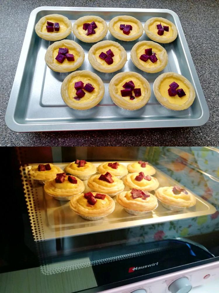 紫薯和蛋挞的完美搭配–紫薯蛋挞👍👍👍图8
