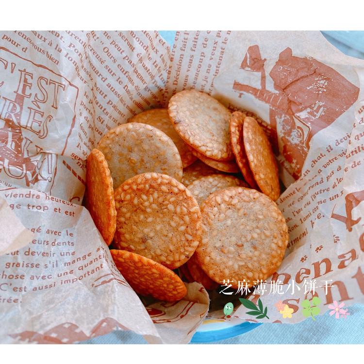 芝麻薄脆饼干图1
