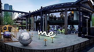 奔驰餐厅竟然很好吃!打卡全球第8家奔驰体验店