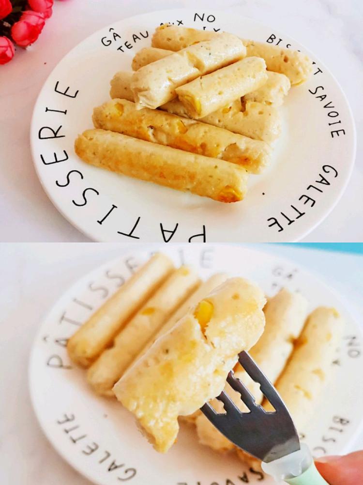 自制无添加玉米鸡肉肠,自己动手给孩子做一锅,孩子超爱吃(⑉°з°)-♡✌✌✌图1