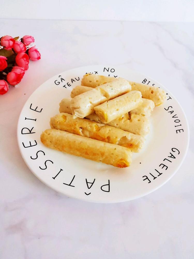 自制无添加玉米鸡肉肠,自己动手给孩子做一锅,孩子超爱吃(⑉°з°)-♡✌✌✌图3
