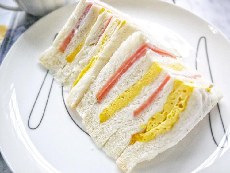 早安~~拿铁+火腿蛋三明治~~图2
