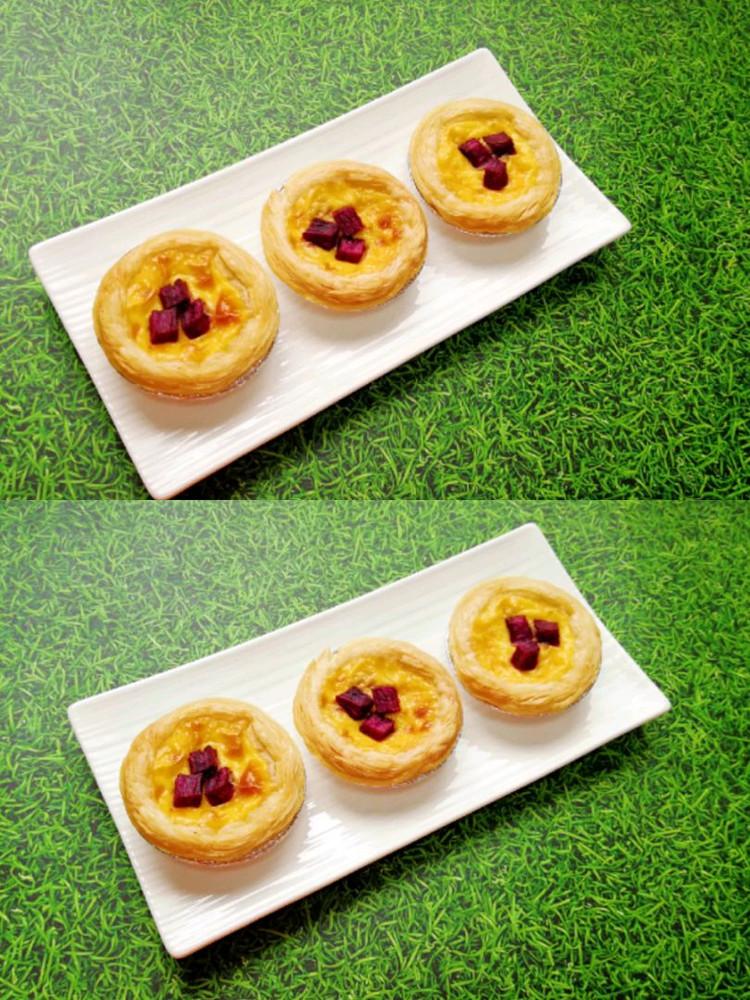 紫薯和蛋挞的完美搭配–紫薯蛋挞👍👍👍图3