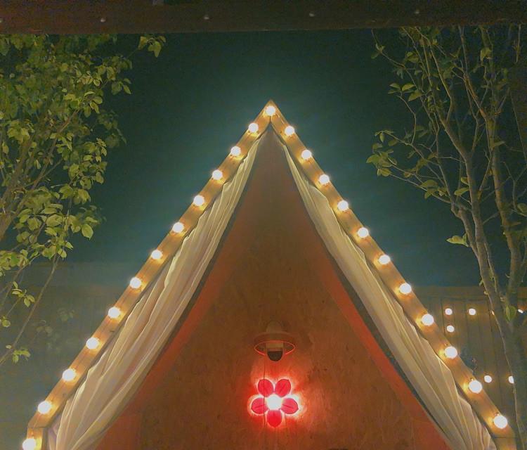 雨天,我们在帐篷里吃肉串多浪漫图6