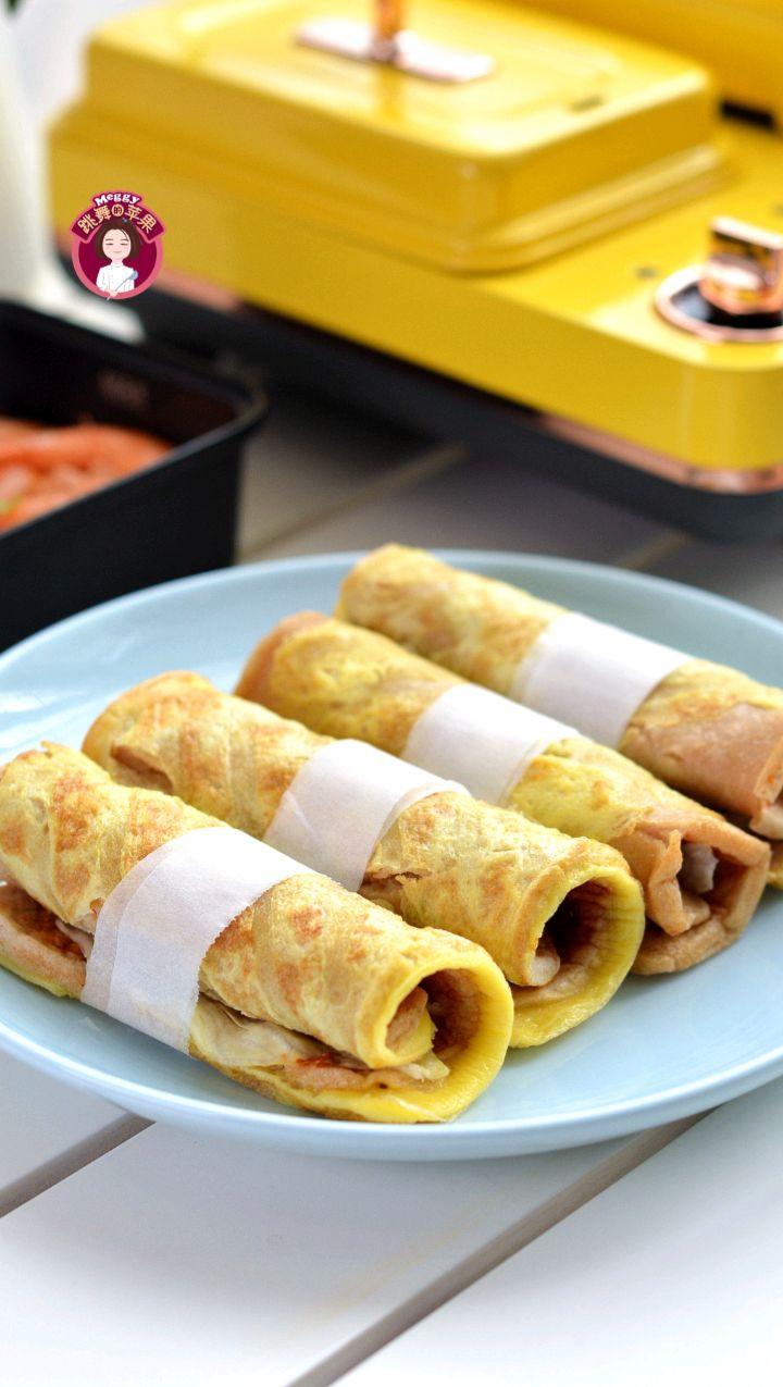 轻食早餐,鸡蛋煎饼配大虾番茄汤,鲜香味美!图2