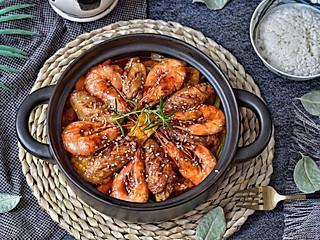 尔東美食记的🔥不加一滴水,好吃到爆炸的虾翅三汁焖锅