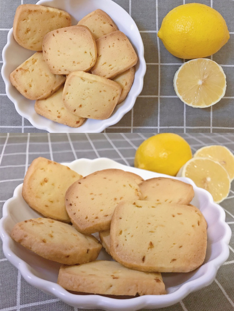 曲奇这样做,小心不够吃‼️吃一口就会上瘾㊙️柠檬曲奇饼干图6