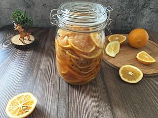 石头妈1的蜂蜜百香果柠檬茶