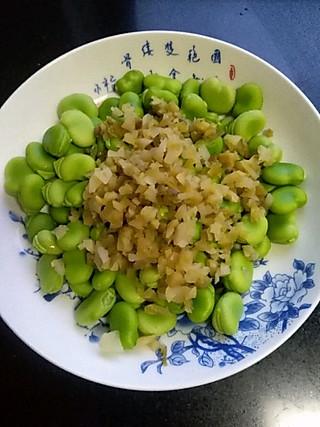 Louisa777的咸菜蚕豆