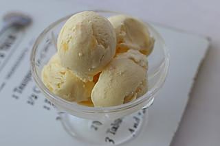 奶油tracy的椰芒冰淇淋清凉一夏