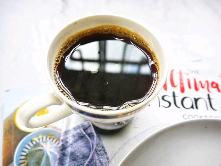 早安~~黑咖啡+黑糖珍珠吐司片~~图4