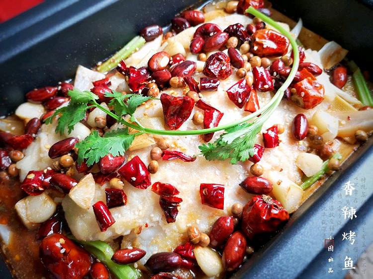 在家也能做烤鱼?不用烤箱,做法简单,鱼肉细嫩,配菜也很入味!【附做菜小贴士】图9