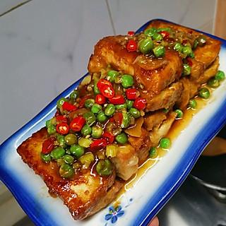 你的男孩子的男孩子的厨房日记-肉糜酿豆腐