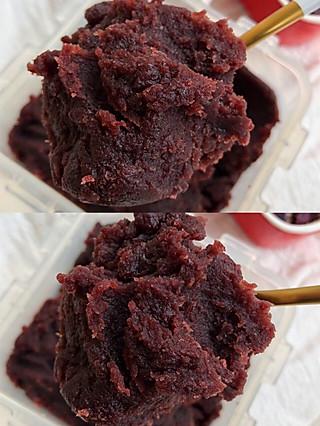 豆粉7711698588的㊙️无敌绵蜜的自制红豆沙‼️好吃到直接干吃几口‼️懒人版豆沙