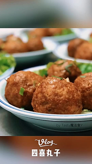 Tasty魔法食Y的让肉食动物们欲罢不能的美味【四喜丸子】
