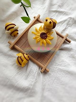 """一诺食光的长得像""""蜜蜂🐝""""的馒头"""
