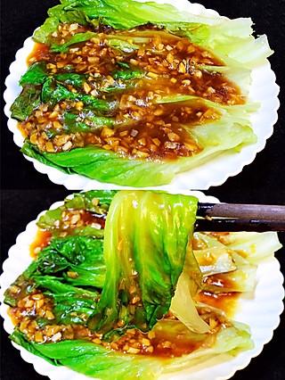 瑾宁妈妈的🔥5分钟快手~比肉还好吃的蚝油生菜,好吃不胖怕🤣