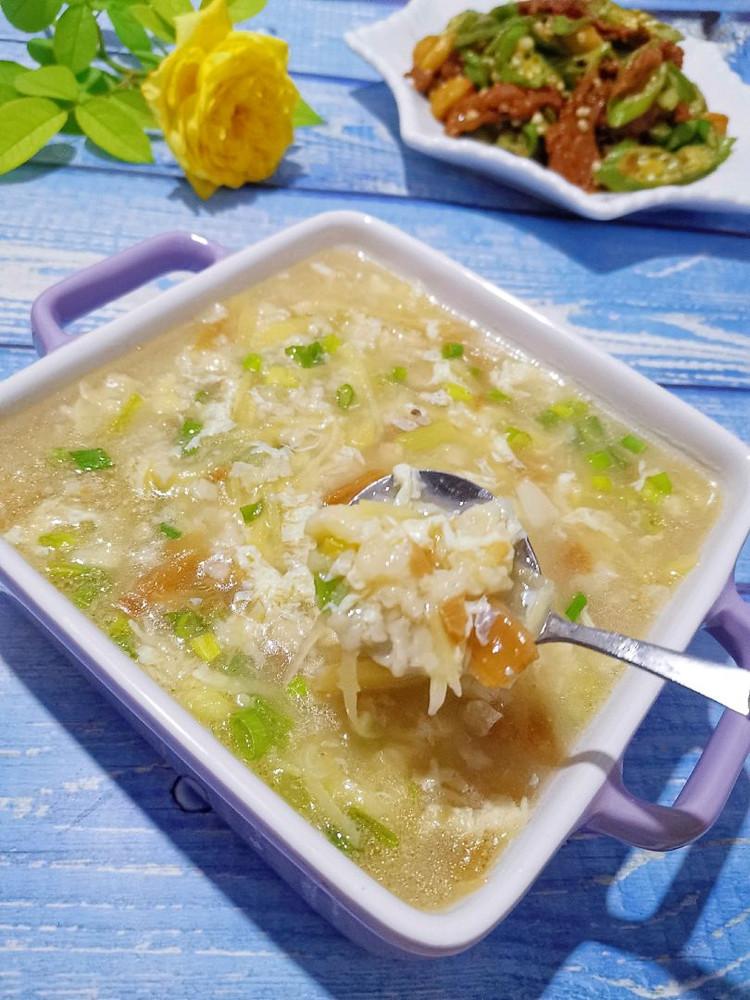 土豆丝疙瘩汤、秋葵牛柳图3