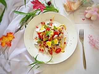 石头妈1的减肥必备—蔬菜鸡胸肉沙拉