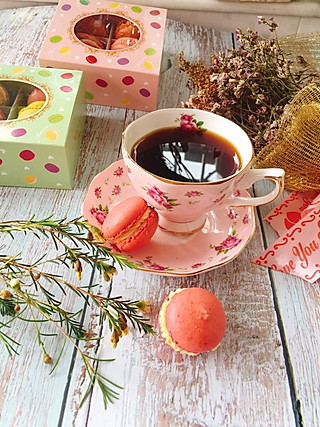 linglingxixi的有马卡龙的下午茶!