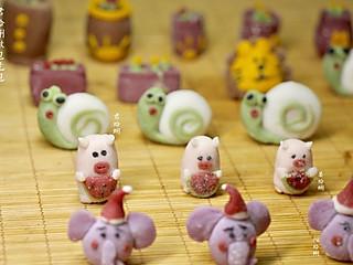 君蛤蜊做包吃包的蒸点:小猪🐖🐌蜗牛🦁️狮子🌵多肉盆栽🌵、🐘大象