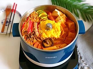 霸道的狮子座的㊙️排队才能吃到的✅韩式部队锅✅~在家可以轻松做