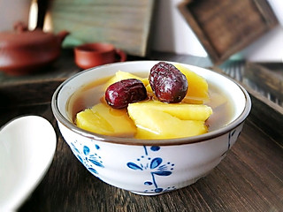 秋天干燥多补水,红薯姜糖水来帮忙,补气润燥还能防感冒!